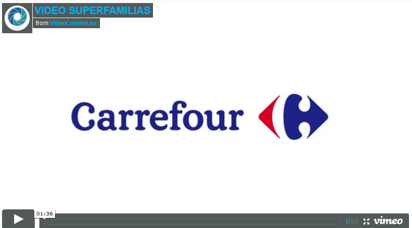 Carrefour video super familias