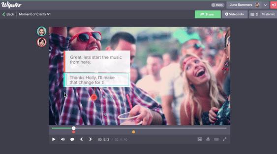Formas e instrumentos de colaboracion a distancia dentro del video corporativo - wipster