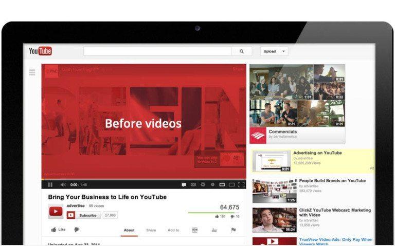 Imagen canal de Youtube - Que es la publicidad Trueview de Youtube y cuales son sus ventajas