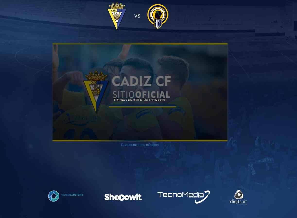 Ver Cadiz vs Hercules Online tv