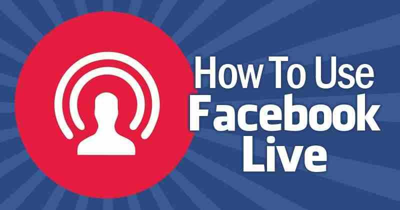 Que es facebook live y para que sirve