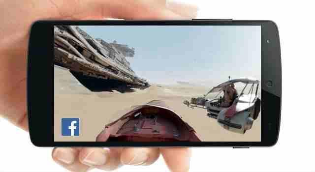 vídeos en 360 grados en facebook que son y como subirlos