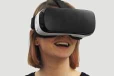 gafas realidad virtual mujer