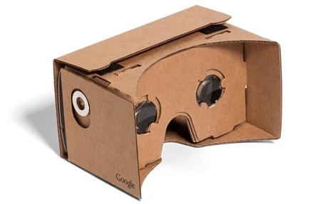 google cardboard gafas vr realidad virtual carton