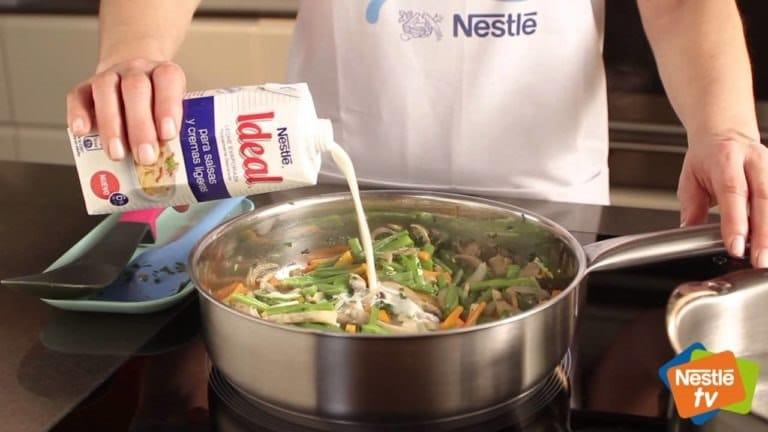 Vídeos de recetas Nestlé