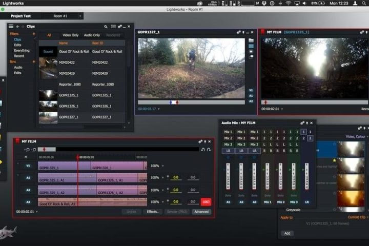 Lightworks editor de vídeo