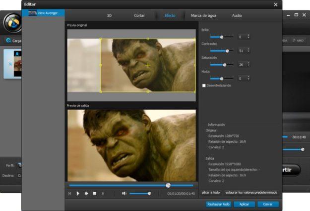 Edición de vídeos 4K