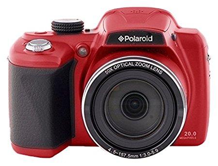 Polaroid IX-5038 Cámara puente 20MP Rojo - Cámara digital (20 MP, 50x, 355 g, Rojo)