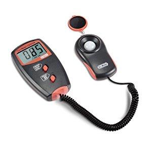 Dr.meter® LX1010B - Luxómetro Digital (100.000 lux, con Gran Precisión y Rápida Reacción)