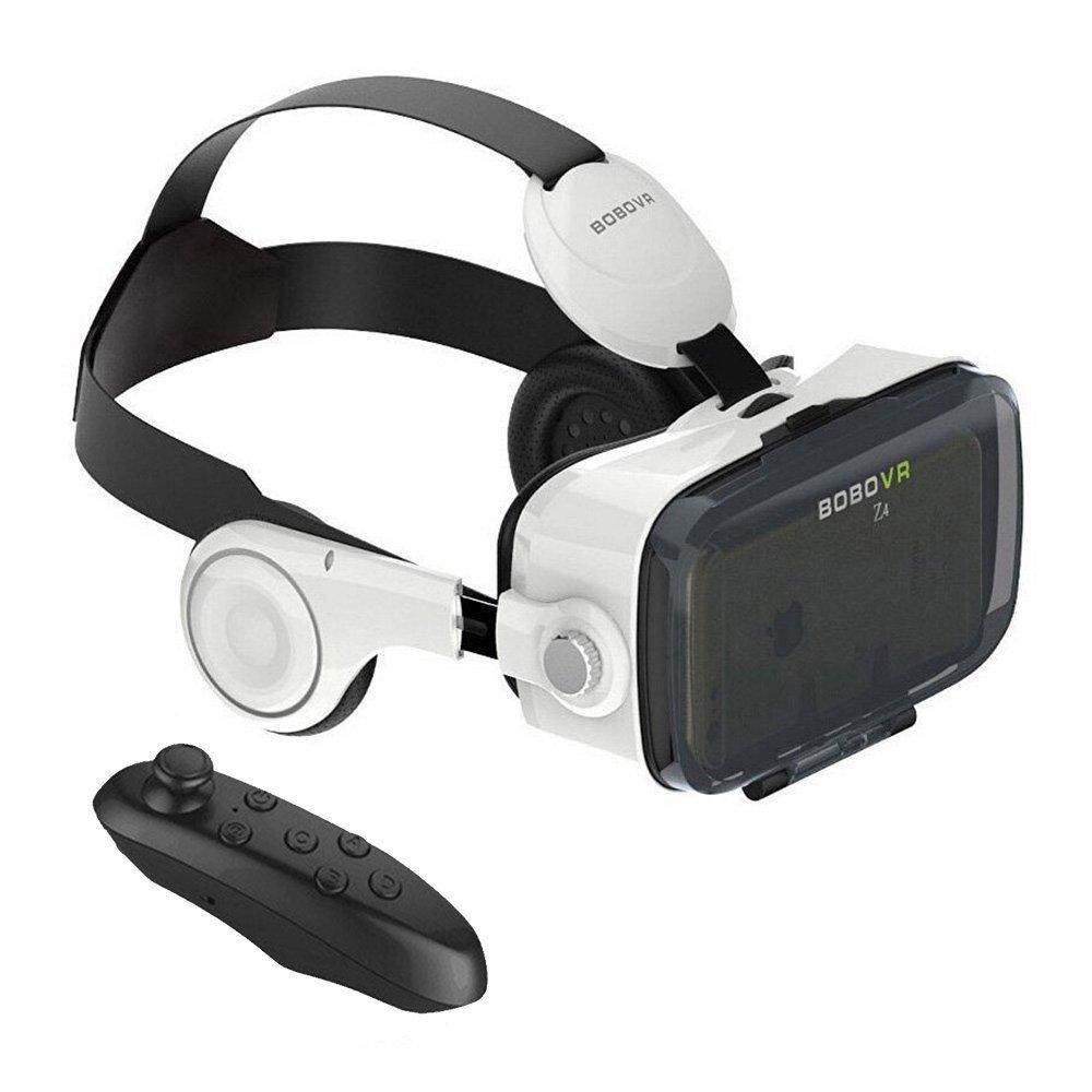 Gizmovine BOBO Z4 VR Gafas Caja con Auriculares con Control Remoto Dioptría Ajuste a Su Cine privado