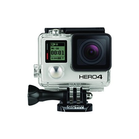 GoPro CHDHX-401-FR Black Edition Adventure - Videocámara deportiva, 12 Mp, Wi-Fi, Bluetooth, sumergible hasta 40 m, versión inglesa/francesa