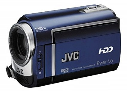 "JVC GZ-MG330A, blue 0.68MP CCD - Videocámara (blue, 0,68 MP, CCD, 25,4 / 6 mm (1 / 6""), 35x, 800x, 2,2 - 77 mm)"