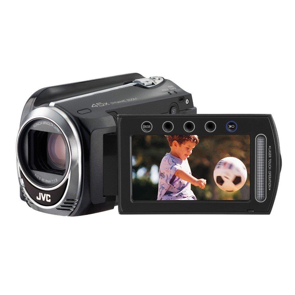 "JVC GZ-MG750BEU - Videocámara de 0.8 Mp (pantalla de 2.7"", zoom óptico 45x, zoom digital 800x), color negro"