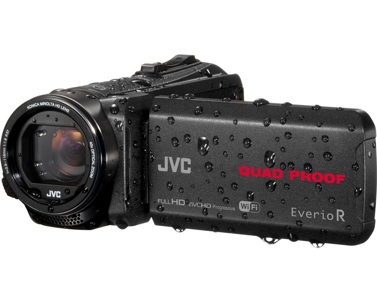 "JVC GZ-RX640BEU - Videocámara (2,5 MP, CMOS, 25,4 / 5,8 mm (1 / 5.8""), 40x, 100x, 2,9 - 116 mm)"
