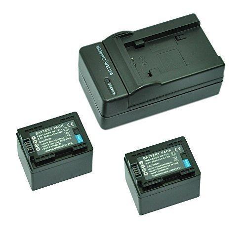 MP power @ 2X Reemplazo Li-ion batería BP727 BP-727 2685mah 3.6V + cargador para Canon videocámara LEGRIA / VIXIA HF M50, HF M52, HF M56, HF M500, HF M506, HF R36, HF R37, HF R38, HF R46, HF R47, HF R48, HF R56, HF R57, HF R66, HF R67, HF R68, HF R306, HF R406, HF R506, HF R606