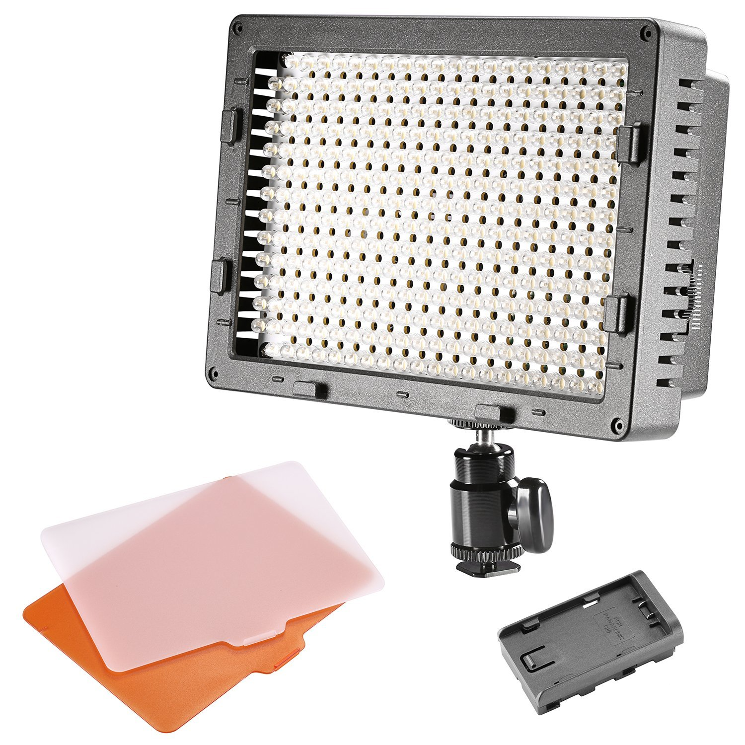 Neewer ®CN-304 Panel de LED de 304PCS Regulable para Cámara Digital/Videocámara de Alta Potencia Luz de Video, Luz de Led para Cámara Digital SLR Canon,Nikon,Pentax,Panasonic,SONY,Samsung y Olympus