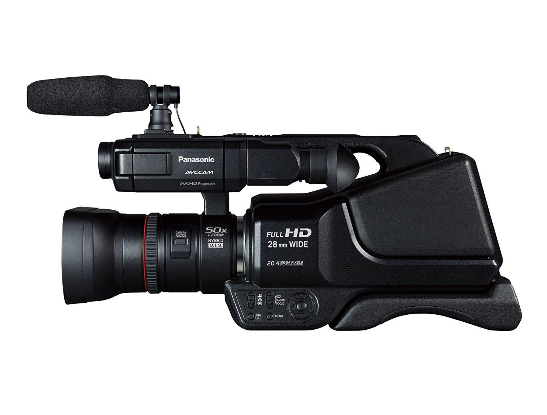 "Panasonic AG-AC8 - Videocámara (MOS, 1/0,177 mm (1/4.5""), 20,4 MP, 21x, 50x, 2,82 - 59,2 mm) Negro"