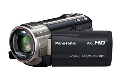 Panasonic HC-V720EG-K - Videocámara de 17.52 Mp (pantalla de 3", zoom óptico 21 estabilizador de imagen óptico), negro