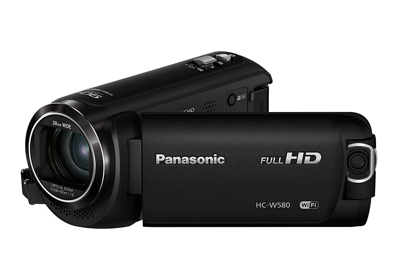 Panasonic HC-W580EG-K - Videocámara (MOS BSI, 25,4 / 5,8 mm, 2,06 - 103 mm, tarjeta de memoria, Full HD)