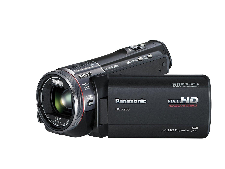 Panasonic X900 & X900M - Videocámara Full HD (resolución de 1920x1080p, compatible con 3D, visor integrado)