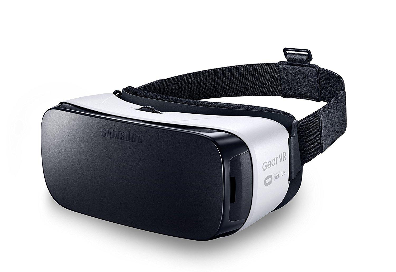 Samsung Gear VR - dispositivos de visualización montados en cascos (Smartphone-based, Negro, Color blanco, Micro-USB, Botones, Digital)