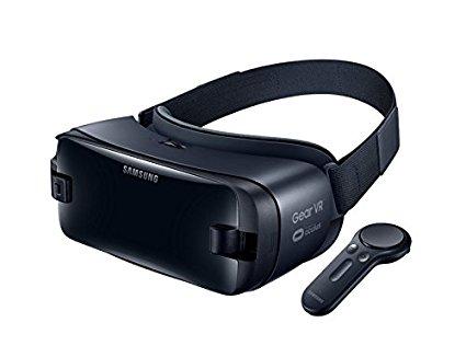 Samsung Gear VR Gafas de realidad virtual con controlador Version Española Negro (Black)