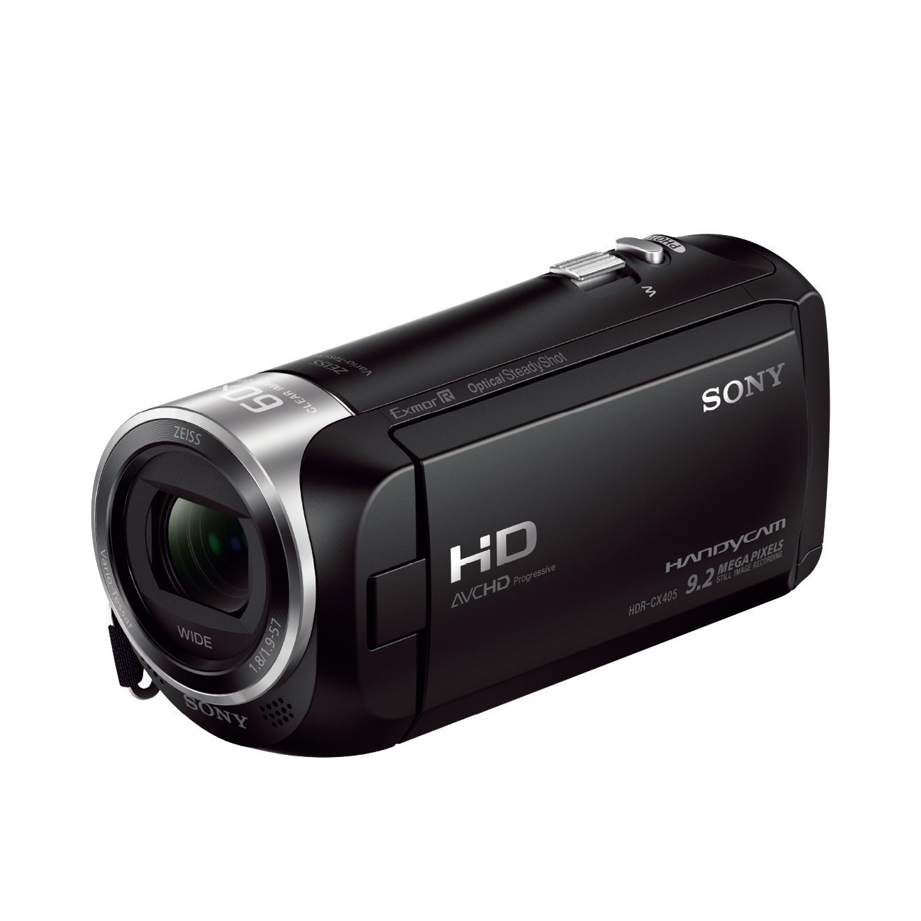 "Sony HDR-CX405 - Videocámara (pantalla de 2.7"", zoom óptico 30x, Full HD), negro"