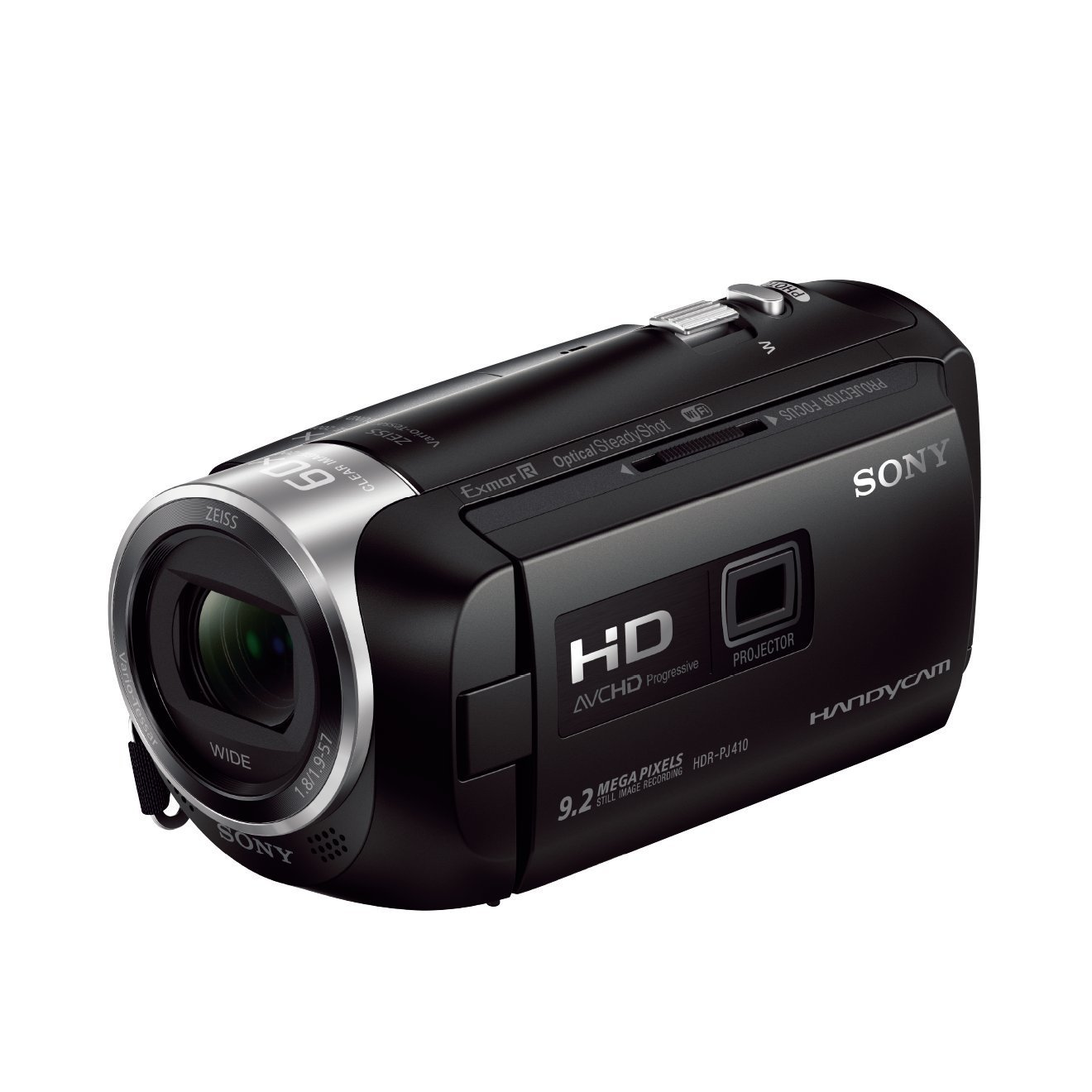 "Sony HDR-PJ410 - Videocámara (pantalla de 2.7"", zoom óptico 30x, WiFi, NFC), negro"