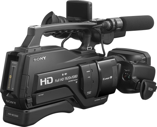 videocámaras profesionales sony