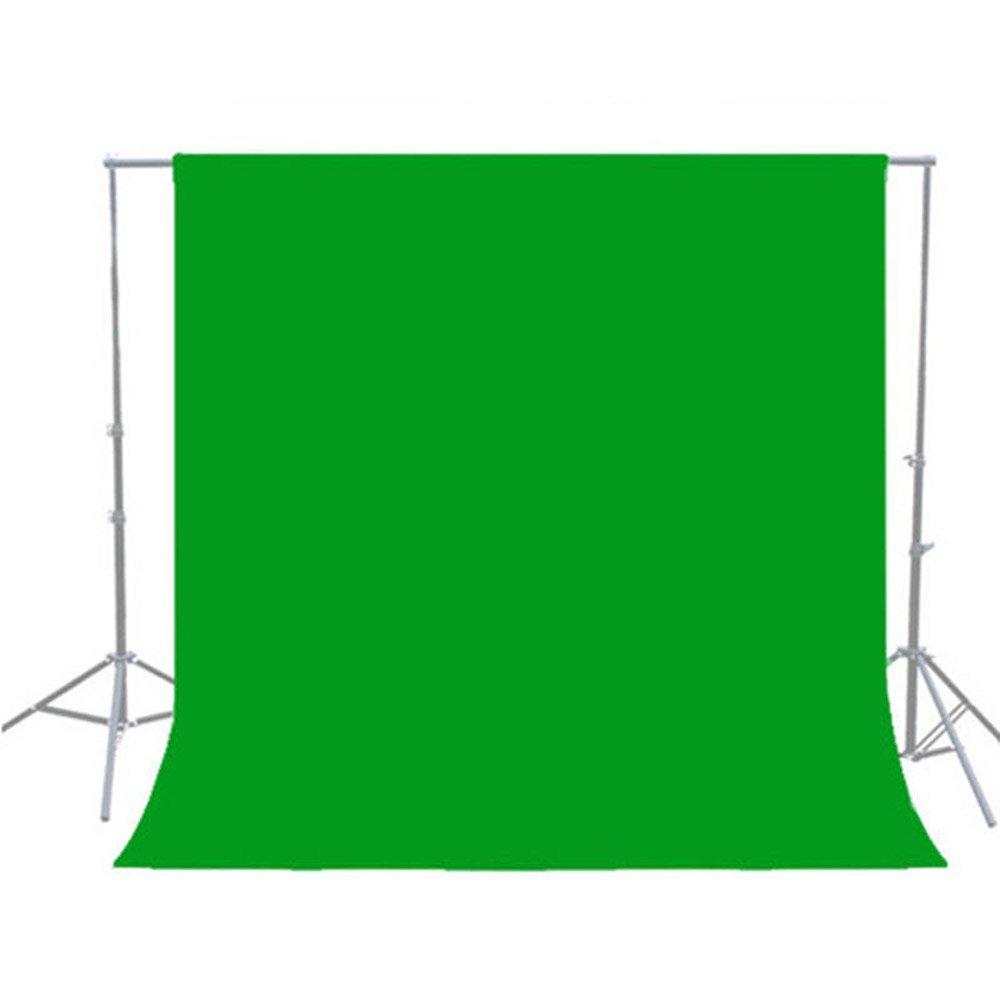 6Ftx10Ft 1,6x 3m blanco verde negro Protector de Chroma clave Telón de fondo para estudio fotográfico/Soporte de fondo/Kit de iluminación/vídeo