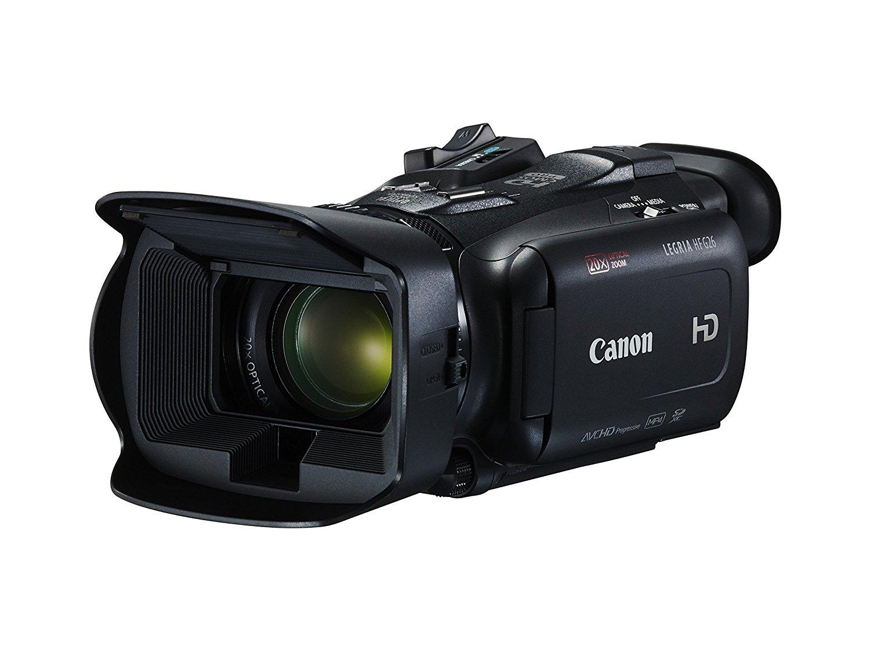 Canon LEGRIA HF G26–Videocámara Full HD (con zoom óptico de 20y CMOS Pro Sensor de Imagen) Negro