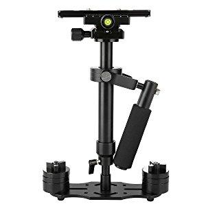 "Estabilizador de Cámara, FOTOWELT S40 15.75""/40cm Steadycam Reflex con Placa de Liberación Rápida con Tornillo Pro de 1/4 '' para Cámara de Video DV DSLR Nikon, Canon, Sony, Panasonic-hasta 0.2-1.5kg /0.44-3.31Ib"