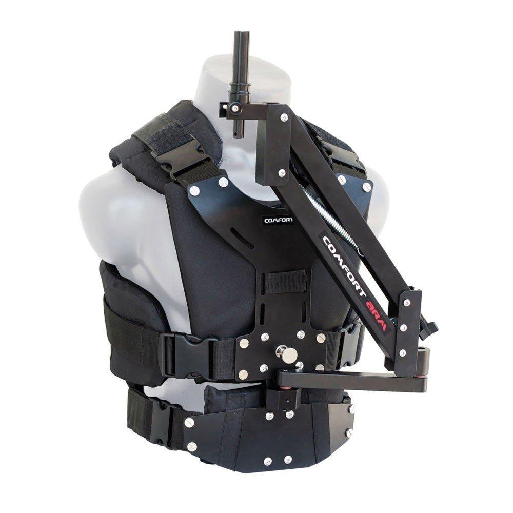 Flycam comodidad brazo de estabilización y chaleco para Flycam 5000/3000/DSLR cámara de vídeo Nano Handheld Steadycam Estabilizador hasta 5kg/11lbs | soporte de cuerpo sistema de estabilización para videocámaras estabilización (cmft-av)