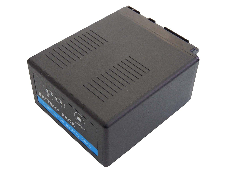 INTENSILO Li-Ion batería 7800mAh (7.2V) para cámara de video Panasonic AG-AC130, AG-AC130A por VW-VBG6, VW-VBG6GK, VW-VBG6-K, VW-VBG6PPK.