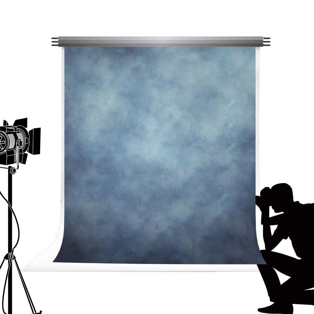 Kate textura azul foto telón de fondo sólido Retro color fondo para estudio fotográfico para fotografía profesional de estudio personal 5 x 7ft/1.5x2.2m