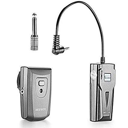 Neewer RT-16 433Hz, Disparador Inalámbrico Flash 16 Canales Kit, Conector Estudio Strobe Monolight Flash Sincronización
