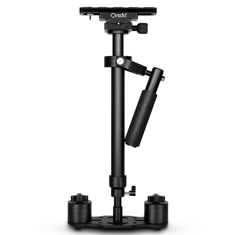 """Orsda® 23,6 """"/ 60 cm aleación de aluminio cámara estabilizadora Steadicam Steadycam con placa de liberación rápida 1/4"""" tornillo para cámara réflex hasta 6.6 libras / 3killogram OR211"""