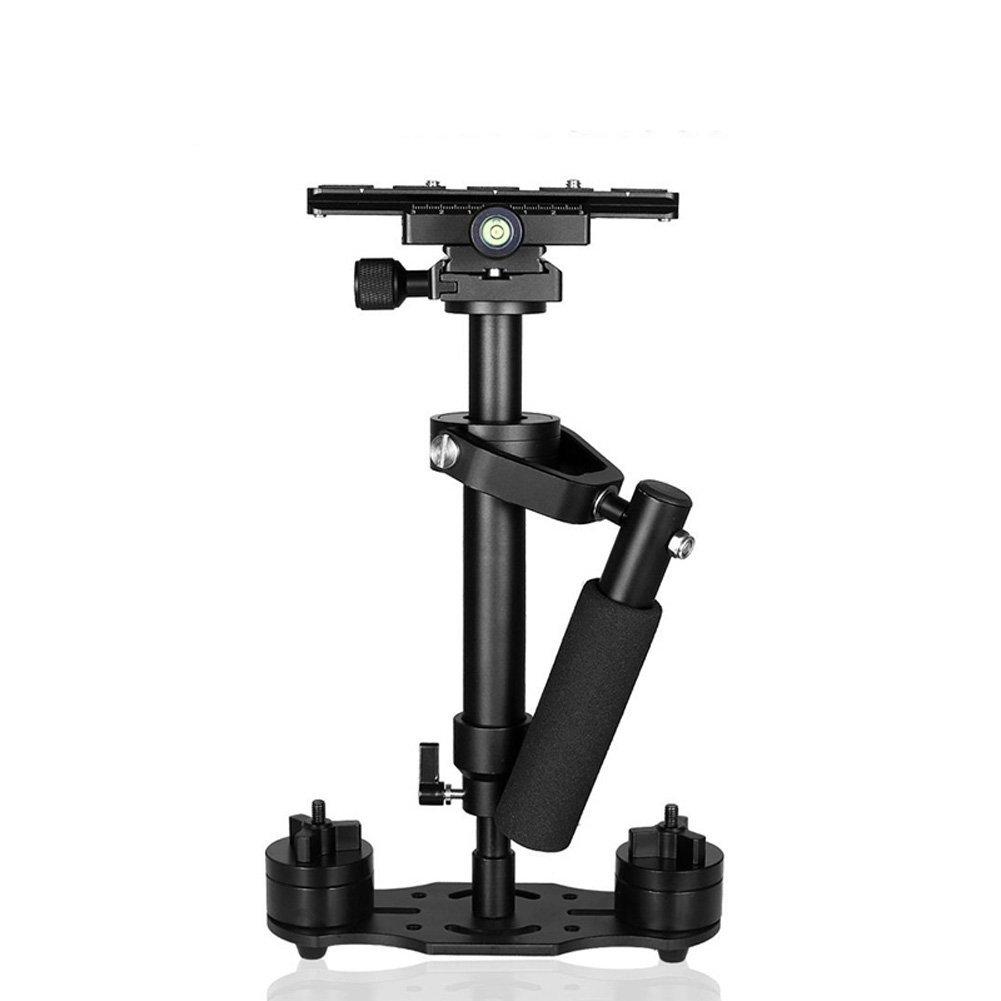 Rokoo Estabilizador de mano portable Estabilizadores de Steadycam video de S40 con la placa del lanzamiento rápido para la cámara de Nikon Sony GoPro