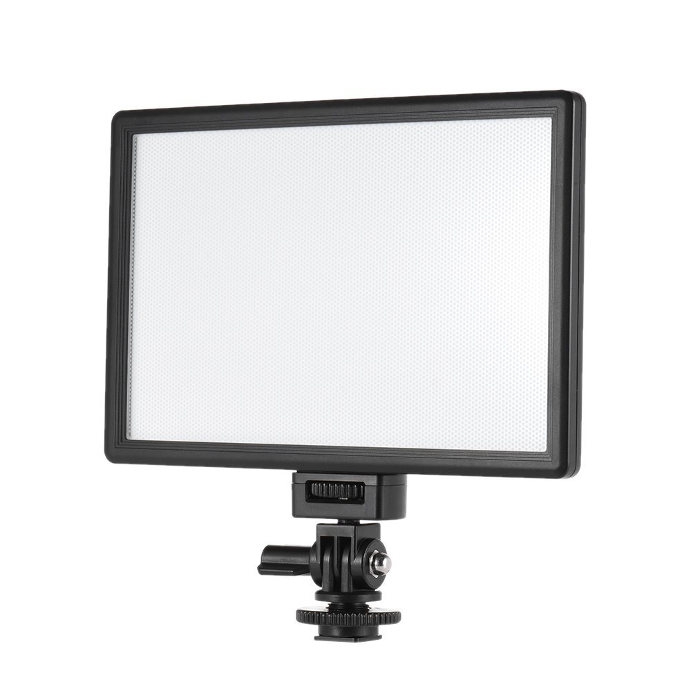Andoer Viltrox L132B Vídeo Profesional Flexible de Luz LED de Iluminación Máxima Luminosidad 1082LM 5400 K CRI95 Para Canon, Nikon, Sony, Panasonic DSLR Cámara de Fotos y Vídeo