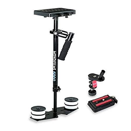 Movofilms 5000Vídeo Estabilizador con placa de liberación rápida Compatible con cámaras con un peso de hasta 5kg/kg–libre pinza para mesa (mf-5000-q)