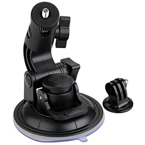 Soporte Ventosa Base Adaptador en Auto para Cámara Gopro Hero 1/2/3