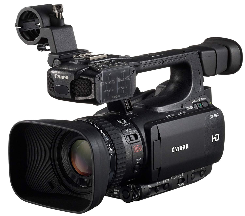 'Canon XF XF1002.37Mp CMOS Black Camcorders (2.37Mp, CMOS, 25.4/3mm (1/3), 2.07Mp, 10x, 6x) [versión Canon Pass Italia]
