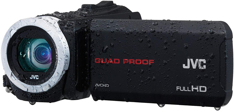 "JVC GZ-R15BEU - Videocámara (10 Mp, CMOS, pantalla de 3"", zoom óptico 40x, estabilizador de imagen), negro"