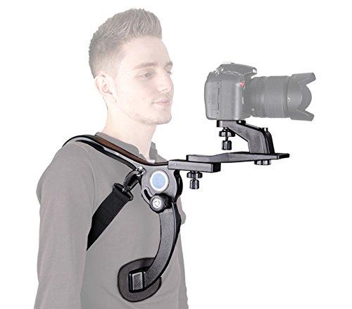 Khalia-Foto ML-5771 - Soporte de hombro para cámaras DSLR y videocámaras, color negro