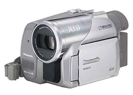 Panasonic NV-GS 75 EG - Videocámara con cintas miniDV