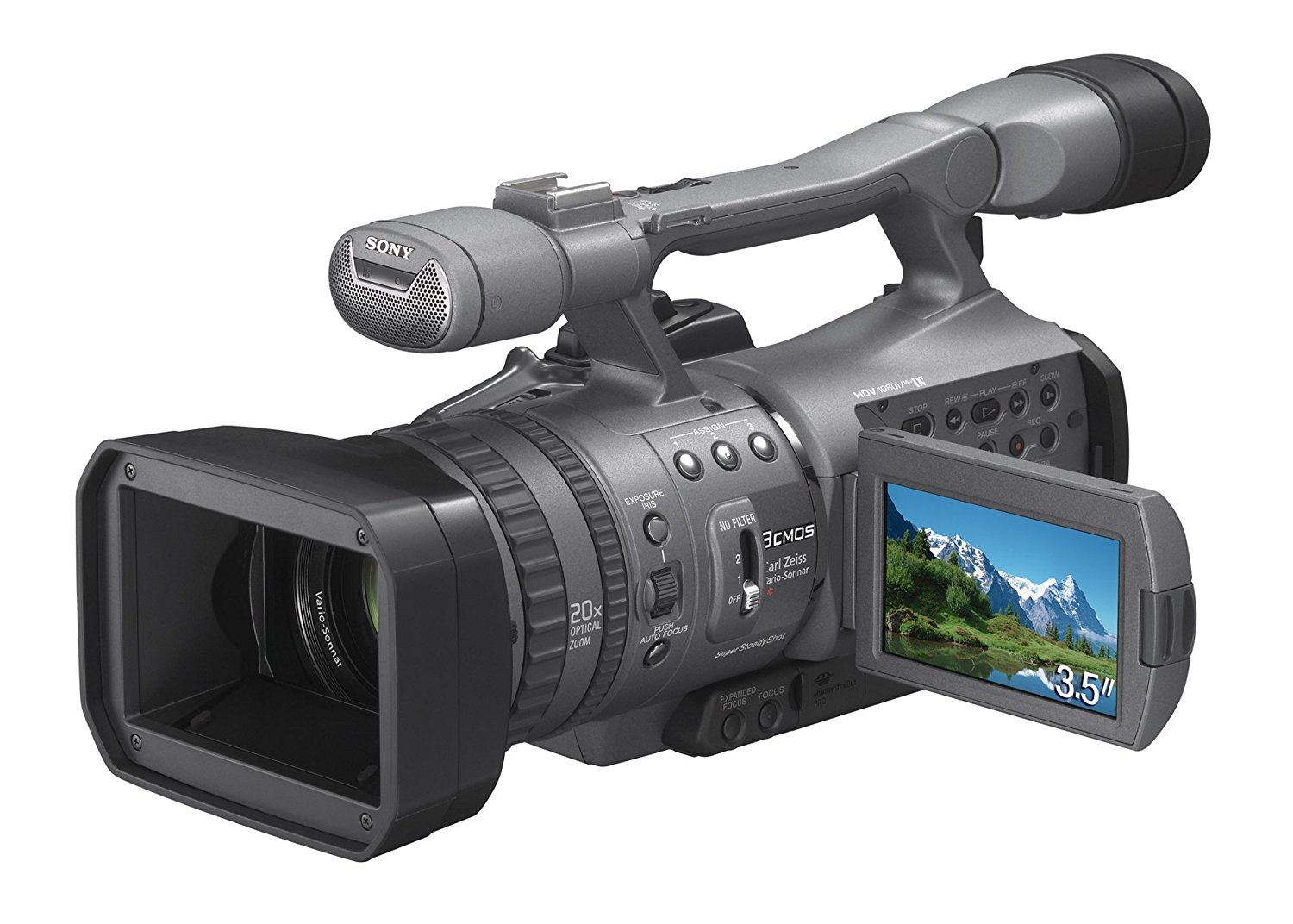 Sony HDRFX7E - Videocámara (pantalla de 3.5 pulgadas)
