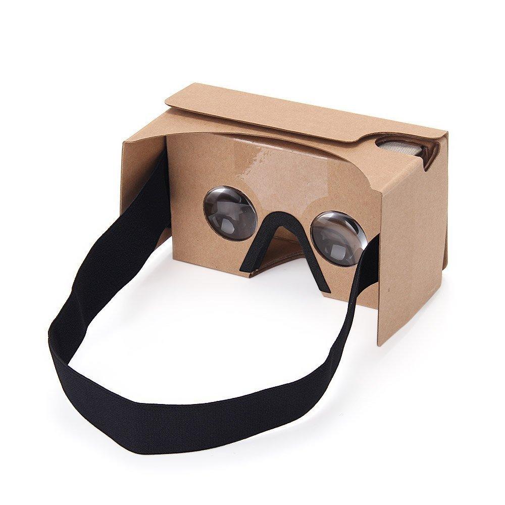 Virtoba V2- DIY Google Cardboard Kit V2 gafas virtuales para móviles entre 3.5-6inch【versión nueva】
