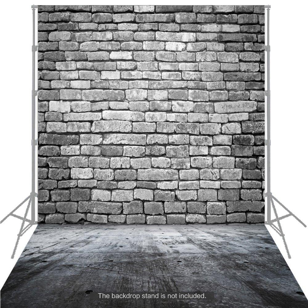 Andoer 1.5 * 2m Fondo Fotografía Clásico de Moda Suelo de Madera para Estudio Fotógrafo Profesional (H)
