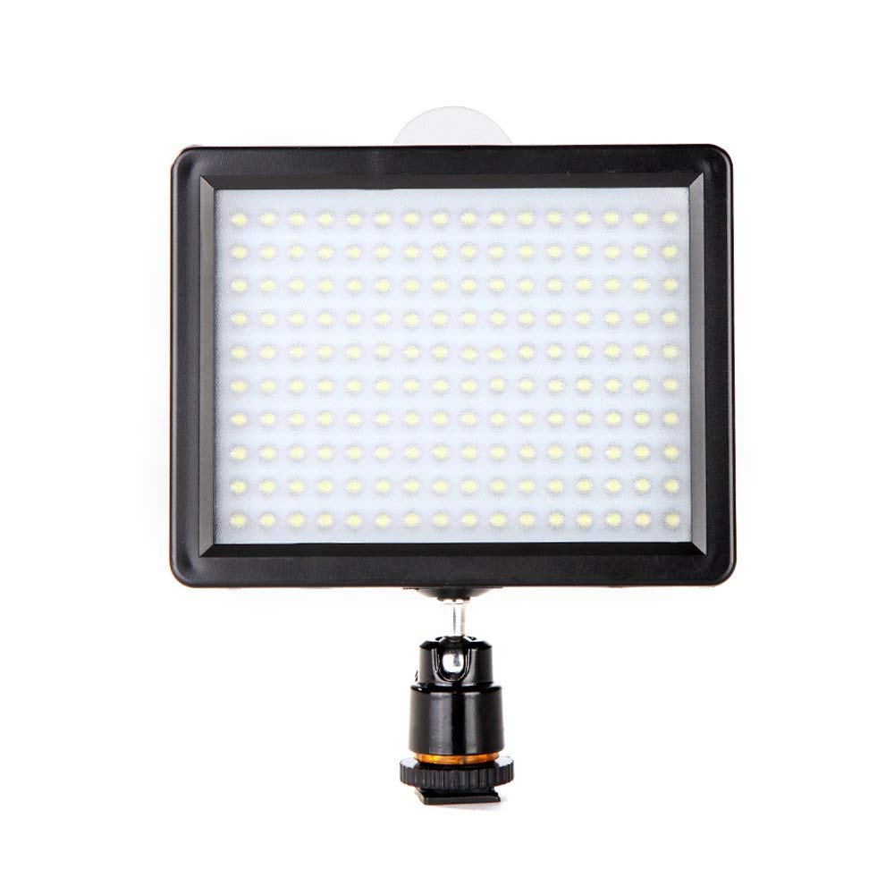 Andoer 160 LED Video Light Lamp Panel 10.5W 1280LM Dimmable for Canon Nikon Pentax DSLR Camera Video Camcorder