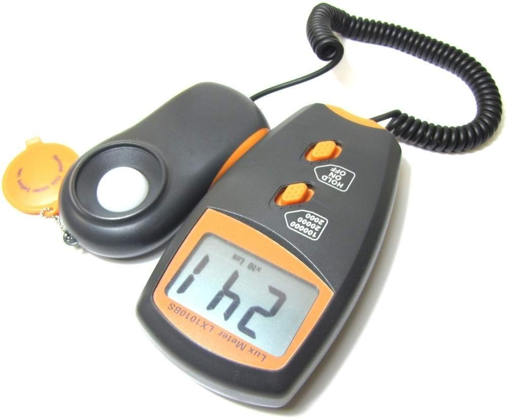 Cablematic - Luxómetro digital LX1010BS